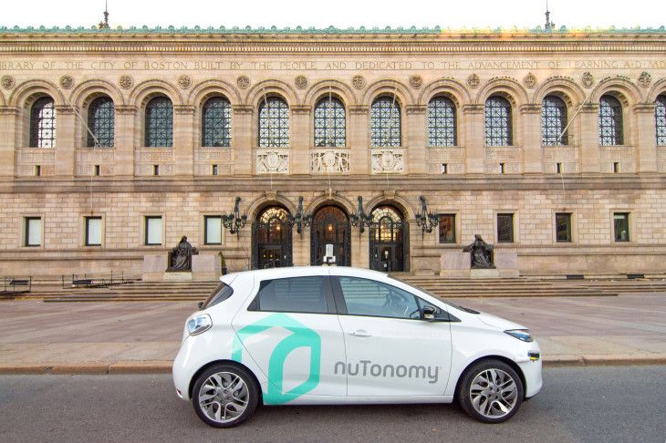 Boston to Allow City-Wide Testing of Self-Driving Cars