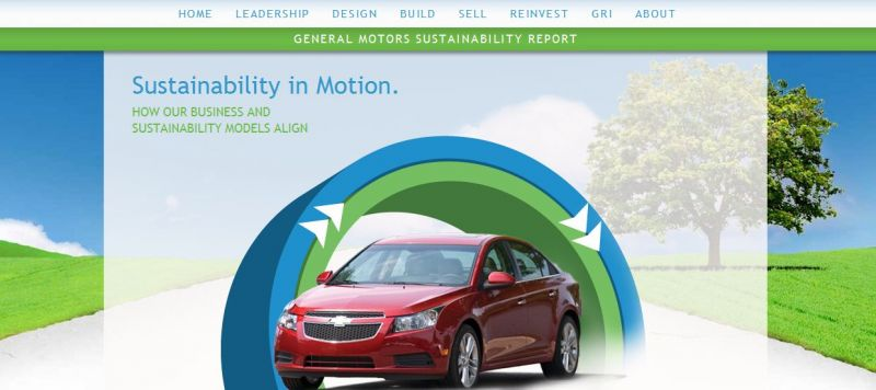 General Motors Commits to Focus on Sustainability