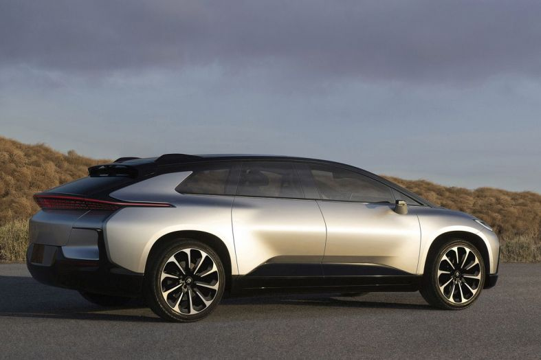 ​Electric Vehicle Startup Faraday Future Secures $2 Billion in Funding