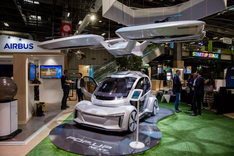 Germany to Test Flying Cars with Audi and Airbus