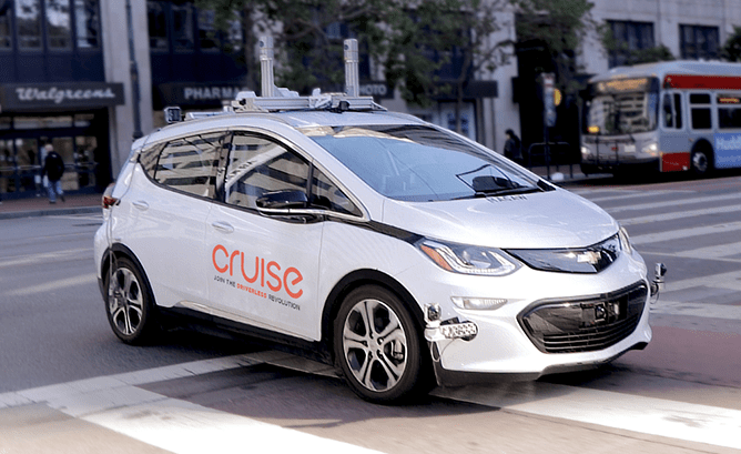 GM Quietly Working On Launching its Robo Taxi Service in San Francisco