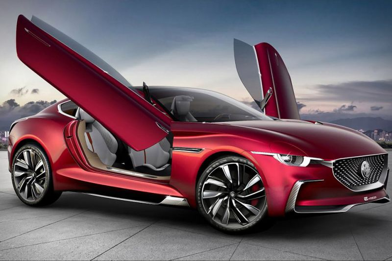 MG Develops an All-Electric Roadster