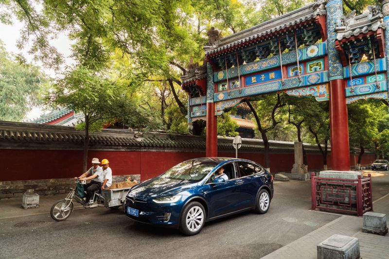 Electric Automaker Tesla Raises Prices by Nearly 20 Percent in China