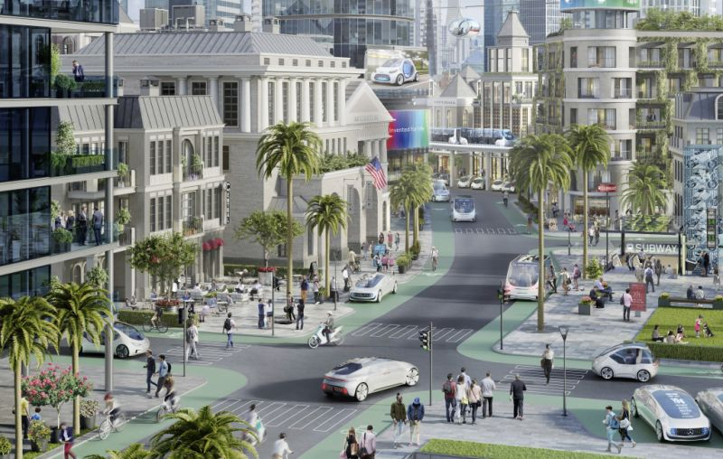 Daimler and Bosch to Launch Driverless Pilot Programs in California