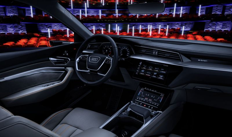 Audi e-Tron Interior Revealed Ahead of the Official Unveil
