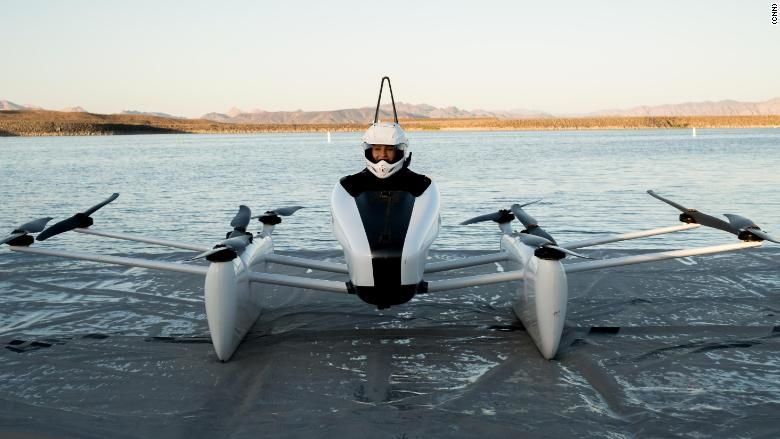 Kitty Hawk Conducts Flying Car Trials in Las Vegas