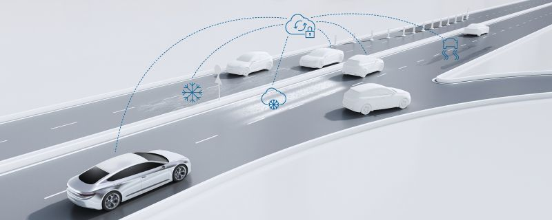 Bosch Teams Up with Forcera to Warn Driverless Cars If Weather Affects Road Conditions