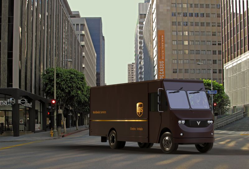 UPS Partners with California EV Startup Thor Trucks