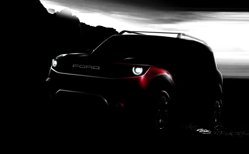Ford's Mystery Compact SUV to Join the All-New Bronco in Company's upcoming lineup.