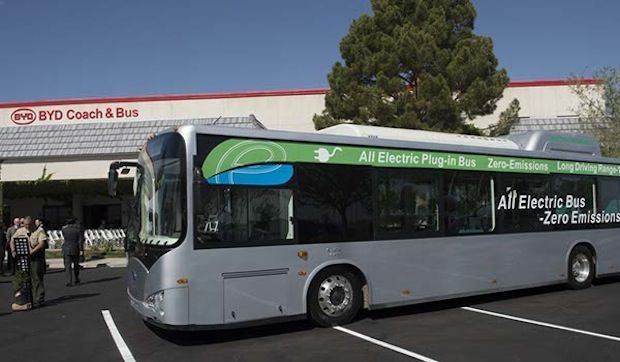 China's BYD Wins Big U.S. Contract to Supply Electric Buses to the State of Georgia