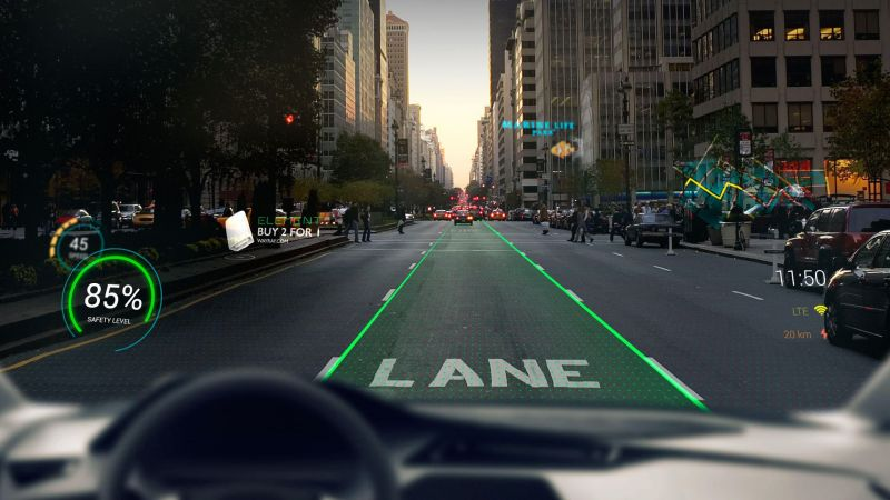 Apple Files Patent for Augmented-reality Windshield