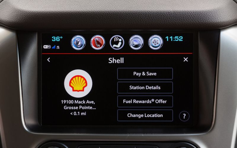GM's Embedded In-Dash Fuel Payment Service Goes Live at Shell Gas Stations