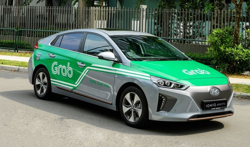 Ride-hailing Firm Grab to Add 200 EVs to Fleet