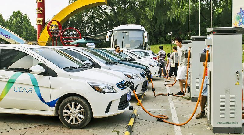 China Partners with CHAdeMO to Develop a Fast EV Charging Standard