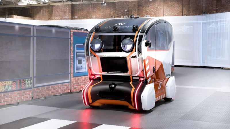 Jaguar Land Rover Tests Virtual Eyes for Driverless Shuttles