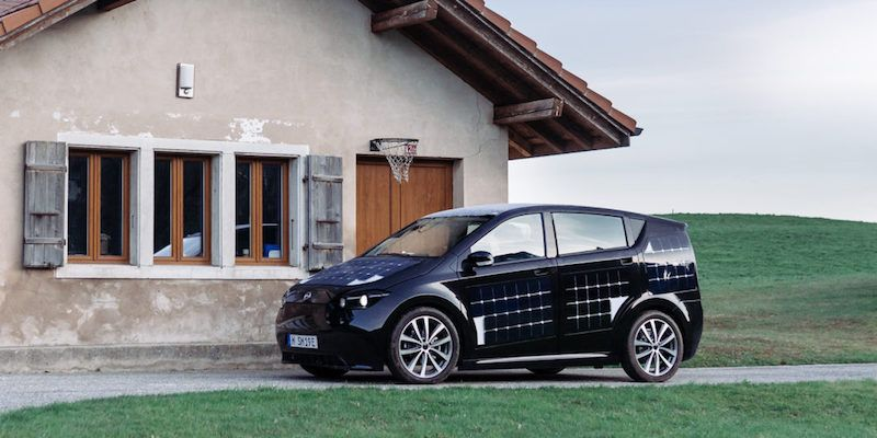 German Startup Sono Motors Aims to Have EV With Solar Panels Available by 2019