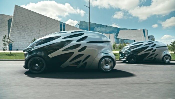 Mercedes Benz Reveals URBANETIC, a Multi-Purpose Mobility Concept Vehicle