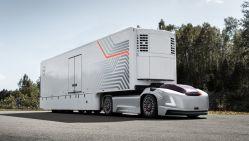 Volvo Unveils a Autonomous Electric Truck With No Cab