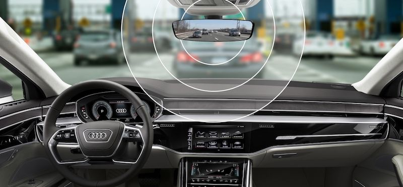 Audi e-tron Will to Feature a Rearview Mirror With an Integrated Toll Module