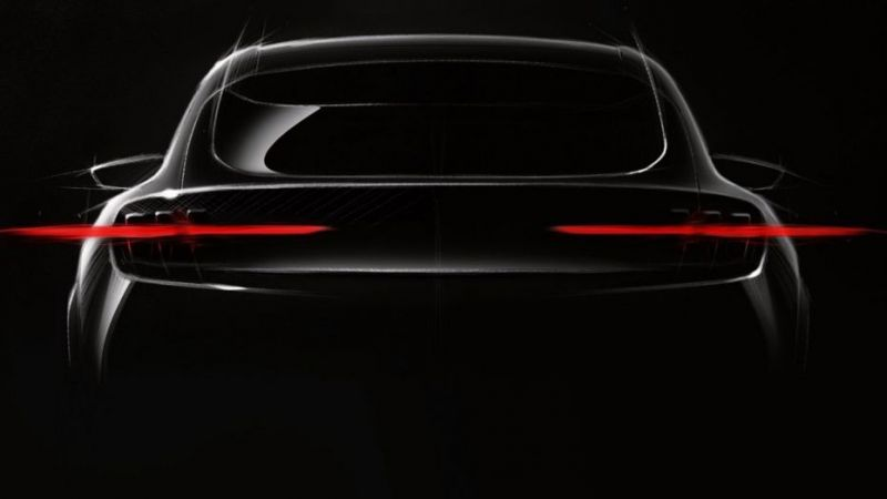 Ford's Mustang Electric SUV Teased as the Company Looks to Electrify its Model Lineup