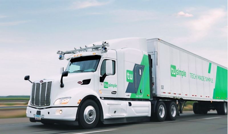 TuSimple Develops a Self-Driving Truck With Help From Amazon Web Services That 'Sees' 1,000 Meters Ahead