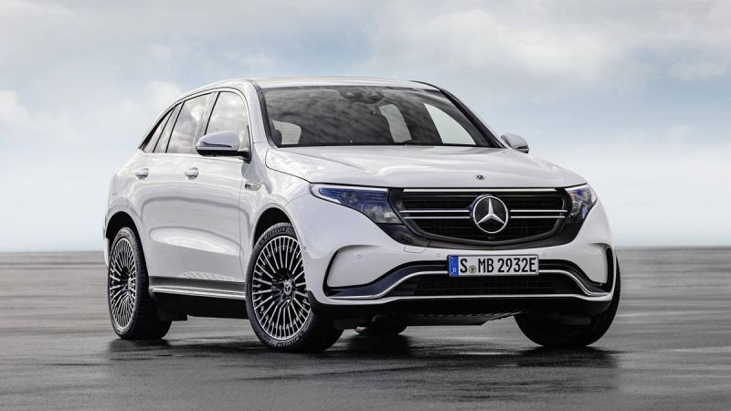 Mercedes-Benz Officially Reveals Tesla Model X Rival EQC 400