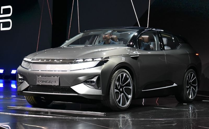 EV Startup BYTON to Work with Bosch on Electric Powertrains and Braking Systems