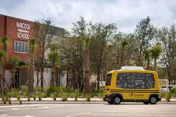 Transdev Launches Pilot Program for Driverless School Buses in Florida