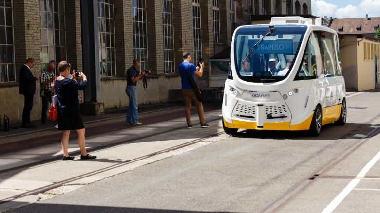Swiss Residents Express Approval for Autonomous Buses
