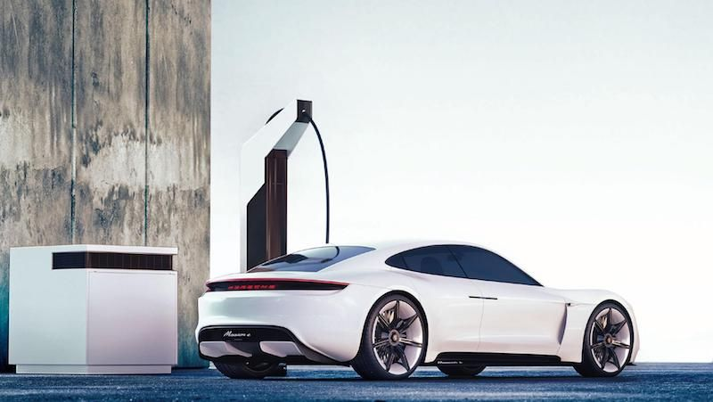 Porsche's Radical Charging Stations Will Charge an EV in 15 Minutes, Look Sleek
