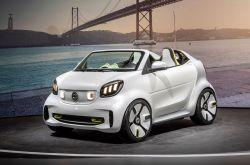 Smart Unveils Roofless EV Concept at Paris Motor Show