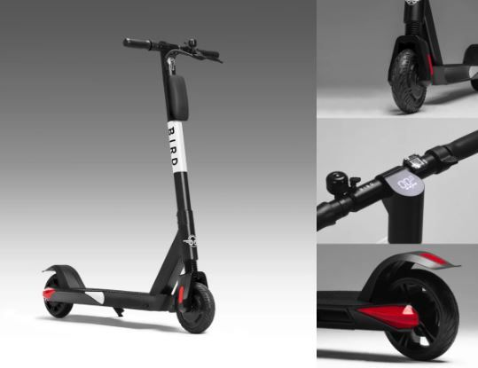 Bird Announces Upgraded E-Scooter and New Delivery Services