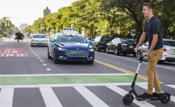 Ford Proposes Driverless Vehicle Signals for Pedestrian Safety