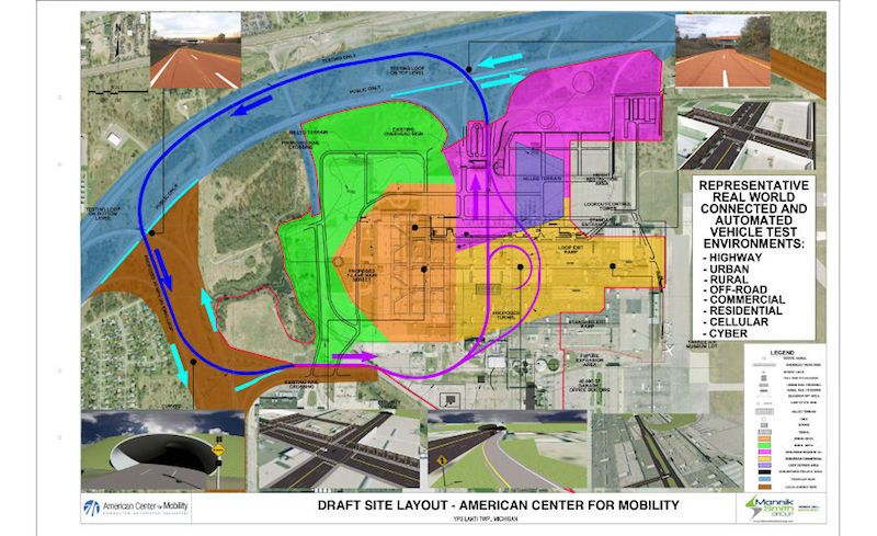 American Center for Mobility in Michigan Loses Federal Proving Ground Designation