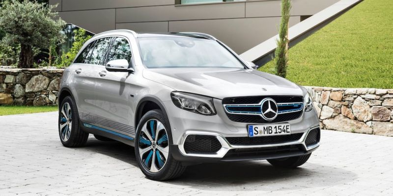 The Mercedes Benz Hydrogen-powered GLC F-Cell Now Available in Europe