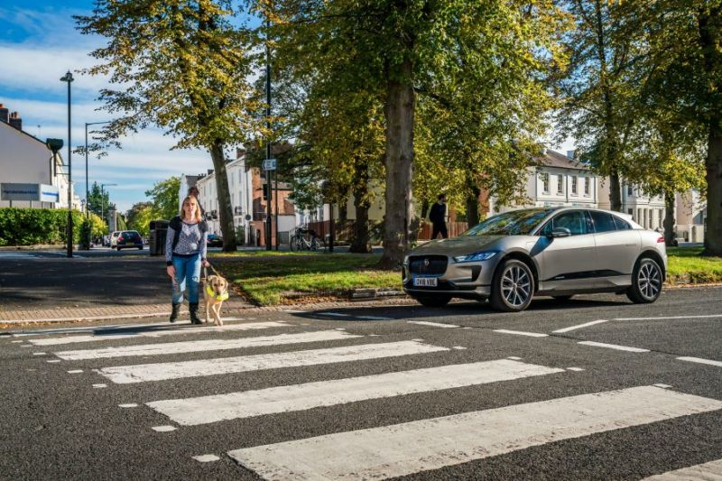 The New Jaguar I-PACE Uses Audible Warnings to Keep Pedestrians Safe