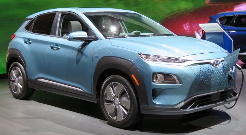 California gets Long-Range Hyundai Kona Electric SUV