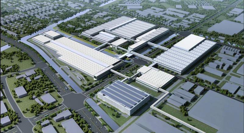 SAIC VW Begins Work on a $2.5 billion China Factory to Build Audi Vehicles