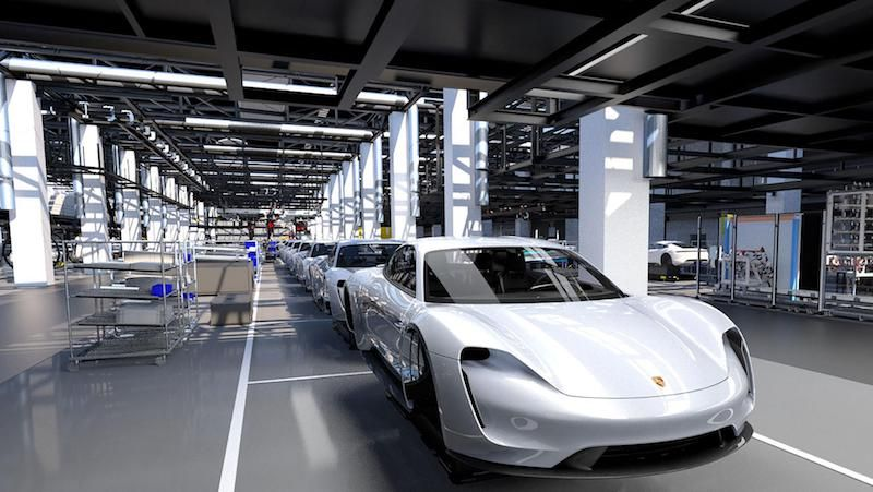 Porsche Sheds Some Light on Upcoming Taycan Production