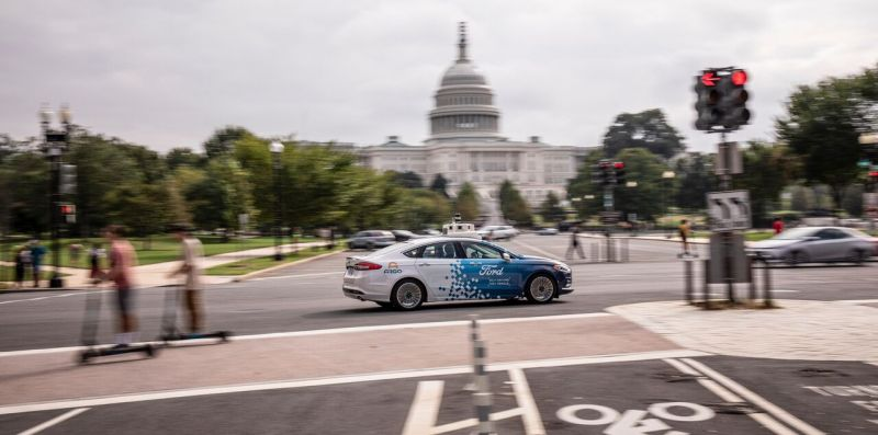 Ford to Launch a Self-Driving Business Pilot in Washington DC