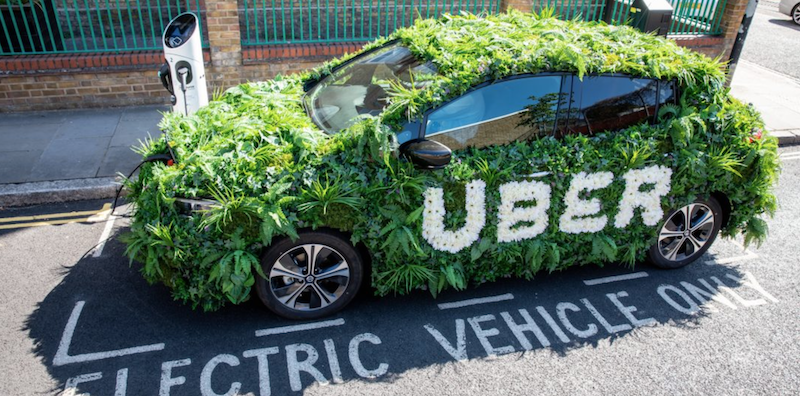 Uber to Raise Prices in London to Help Drivers Switch to EVs