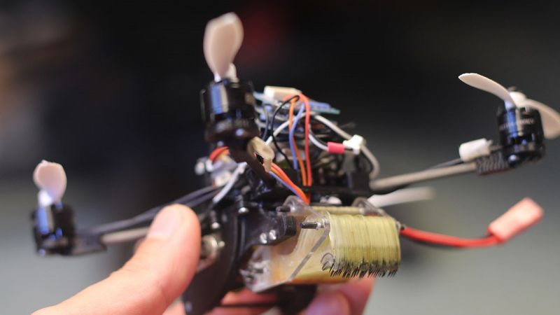 Scientists Create Micro Wasp Drones Capable of Opening Doors
