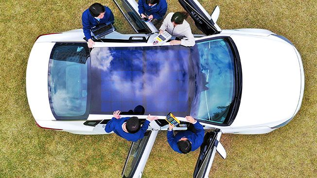Hyundai & Kia to Offer 'Solar Roof' Charging on Select Vehicles