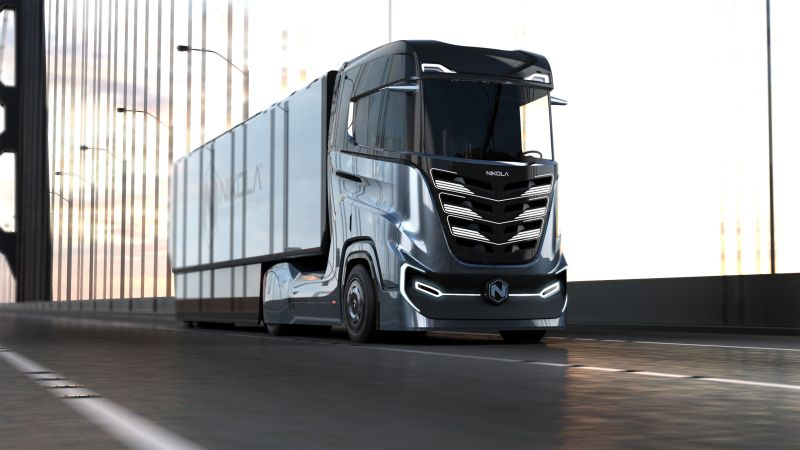 Nikola Motor Co is Building a Hydrogen-Electric Truck for the European Market