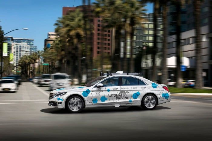 Mercedes Benz & Bosch to Launch a Self-driving Taxi Service in San Jose