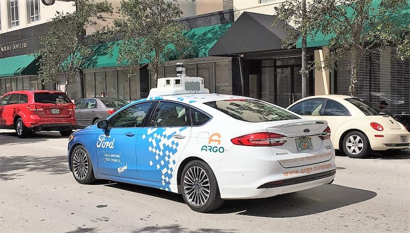 Volkswagen in Talks with Ford to Invest in Self-Driving Startup Argo AI