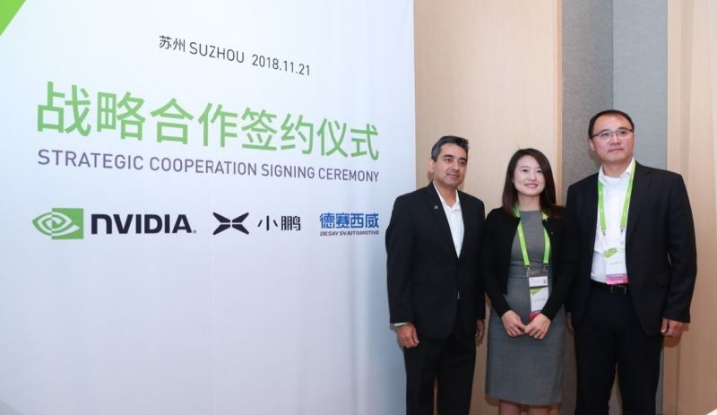 XPENG Motors Signs Strategic Partnership with NVIDIA for Level-3 Autonomous Driving