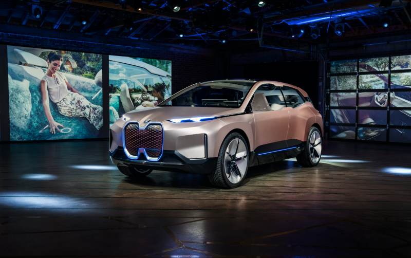 The BMW Vision iNEXT Gets its World Premiere at the LA Auto Show
