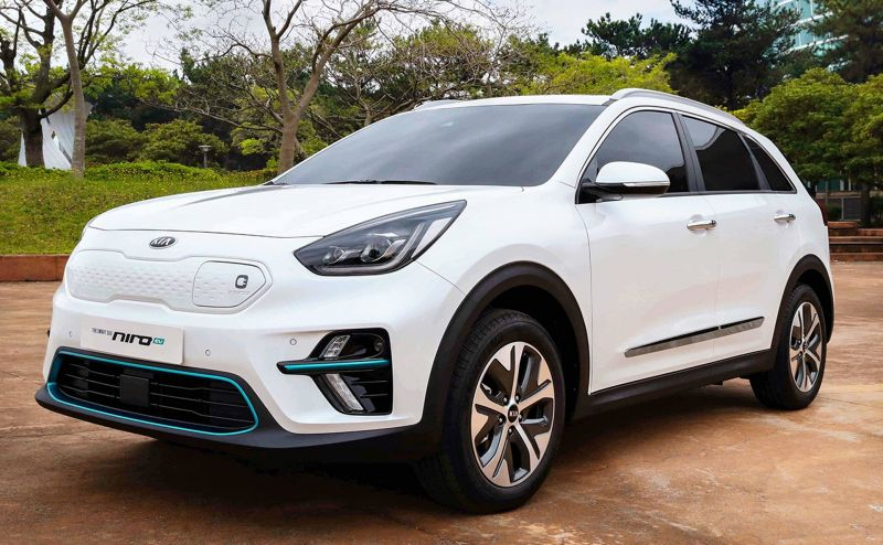 The Kia Niro EV Debuts at the LA Auto Show