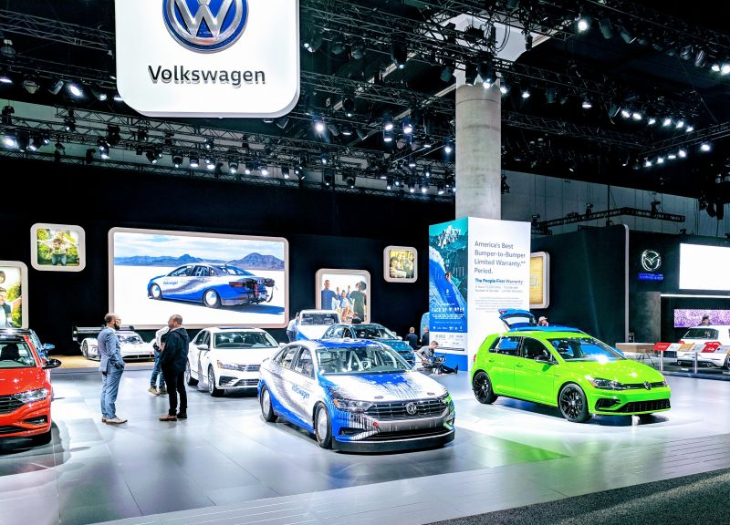 Volkswagen Plans to Open a North American Factory to Build EVs